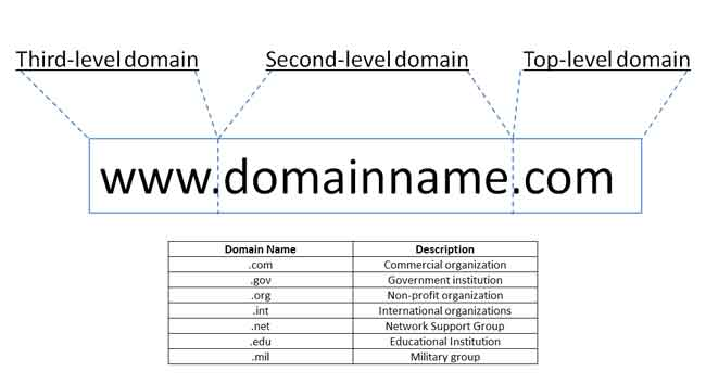 All about Domain Names in Detail