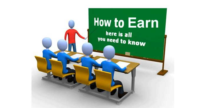 Earn from Website