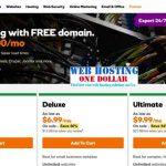 Get $1 web hosting Australia