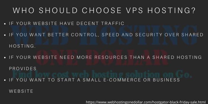 why choose hostgator VPS hosting plan