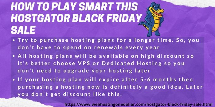 how to get more discounts on HostGator Black Friday offer