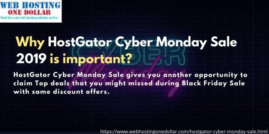 Hostagtor Cyber Monday Sale