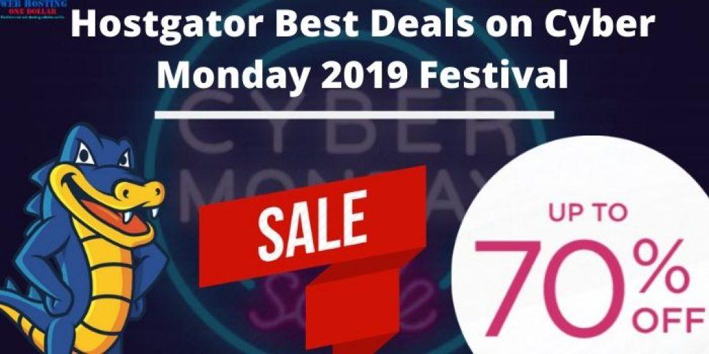 Hostgator Cyber Monday 2019