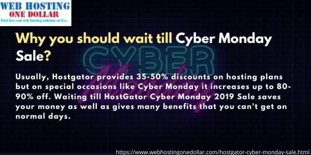 Hostgator Cyber Monday Deals 2019