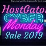 Hostgator Cyber Monday Sale 2019