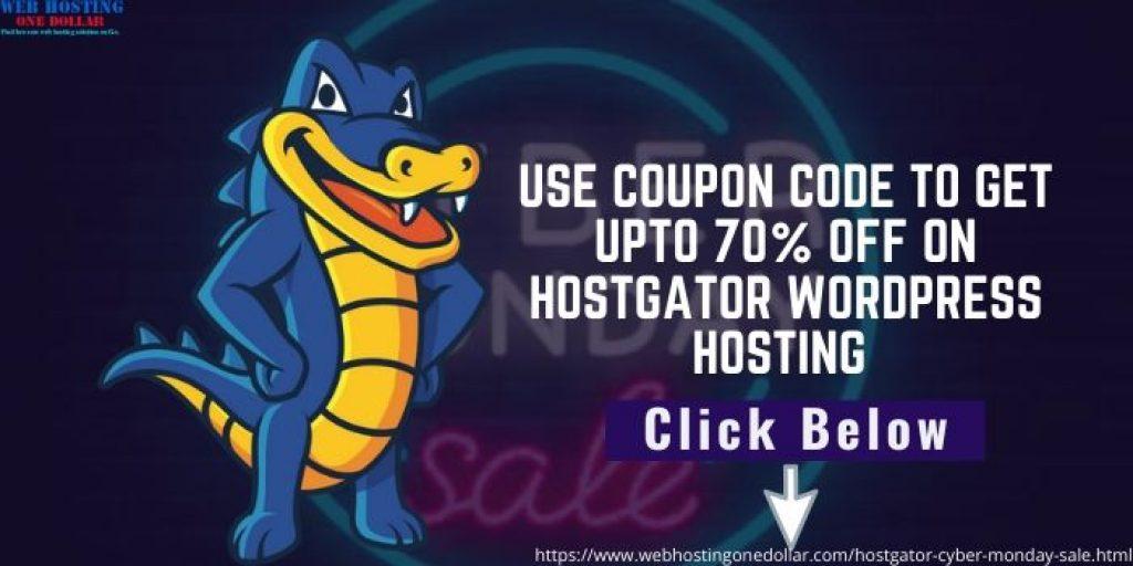 hostgator cyber monday discount code