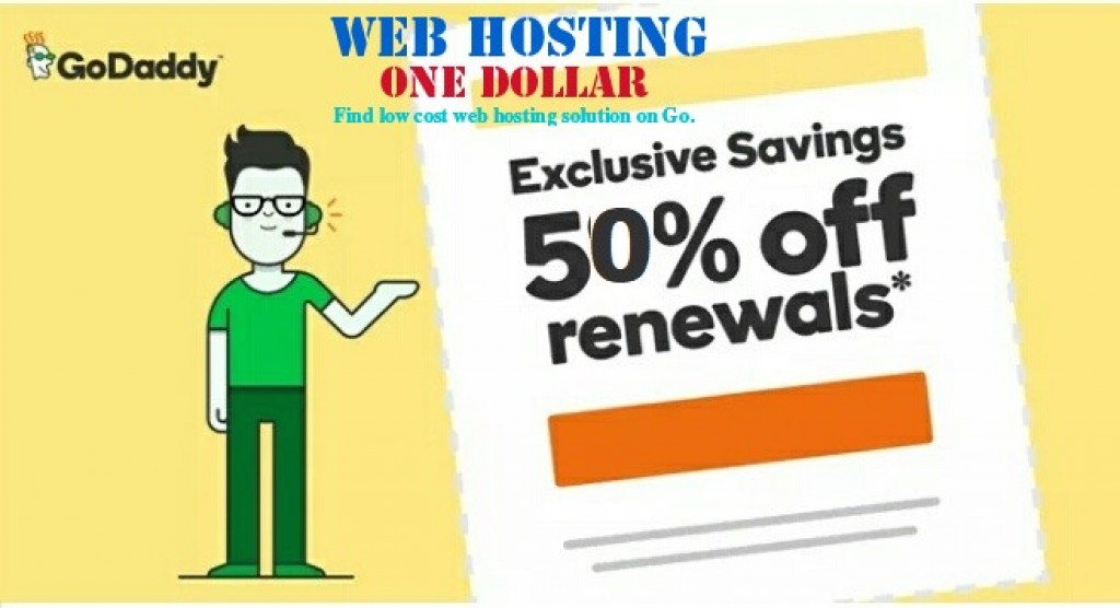 GoDaddy Renewal Discount deals