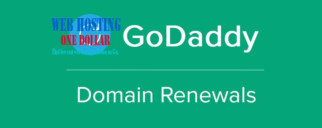 Godaddy Domain Renewal Discount