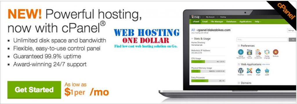 Linux hosting with Cpanel Godaddy