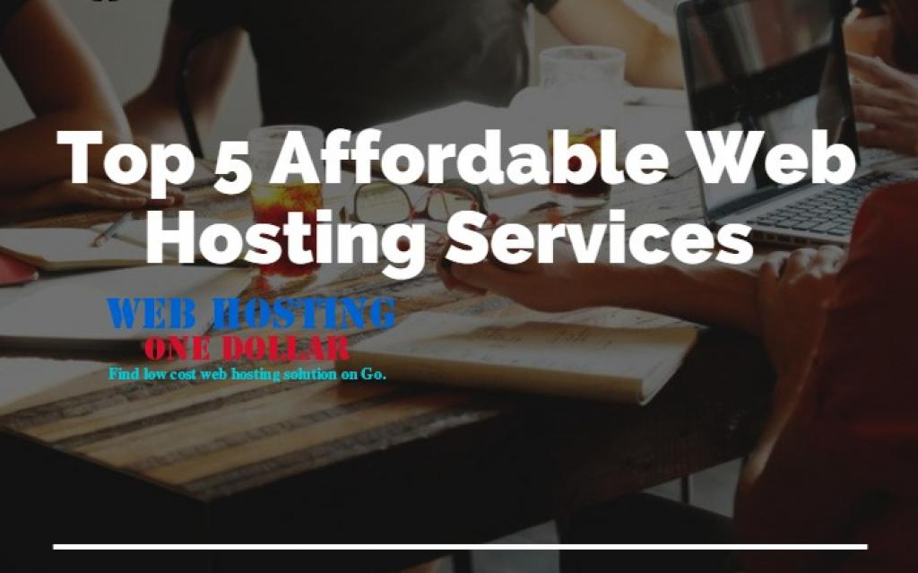 Top 5 affordable hosting Providers