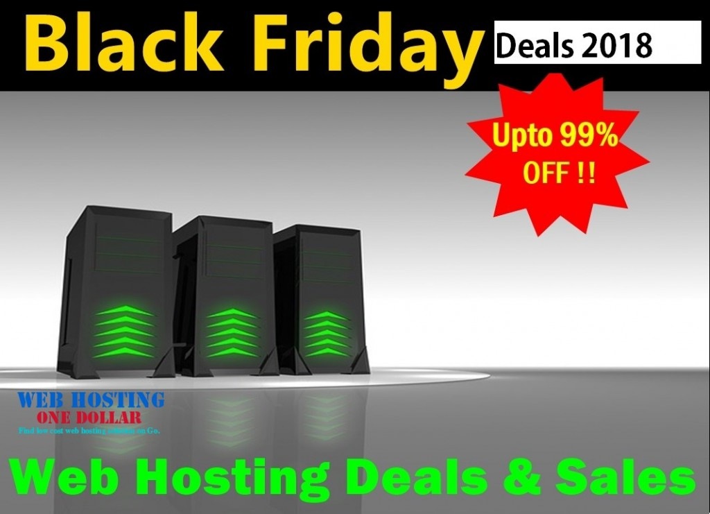 Black Friday 2018 Hosting