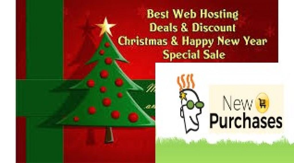 Godaddy Christmas sale 2018