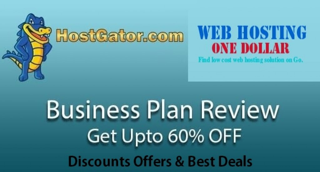 hostgator 60 OFF business plan
