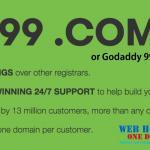 GoDaddy 99 Cents Domain