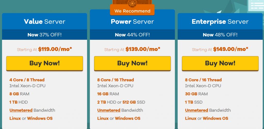 hostgator dedicated server review