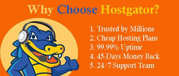 Why Choose Hostgator