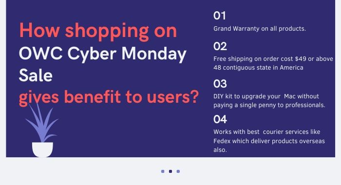 Reason Why purchasing during OWC Cyber Monday is a good idea