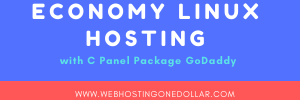 ECONOMY LINUX HOSTING PACKAGES WITH CPANEL GODADDY