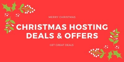BEST HOSTING OFFERS THIS CHRISTMAS