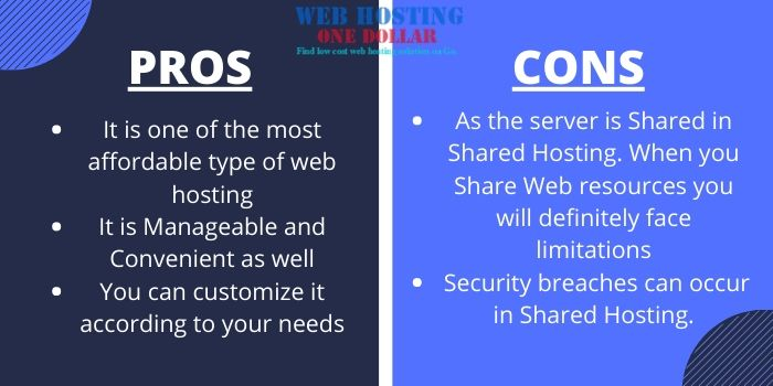 Pros & Cons of Shared Hosting