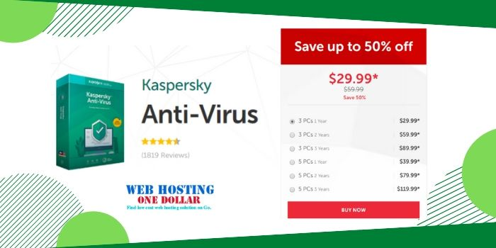 Kaspersky Antivirus Coupon