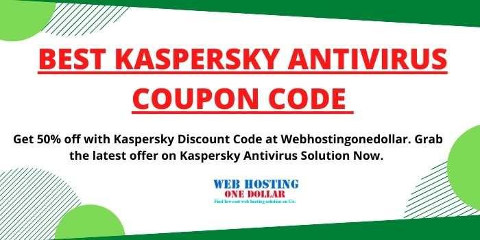 Kaspersky Antivirus Discount Code 2020