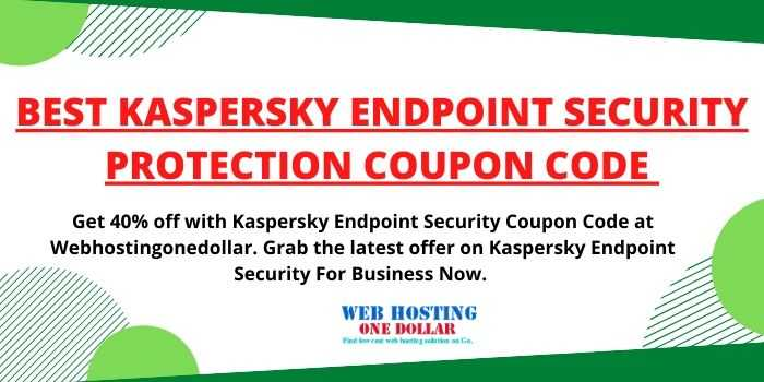 Kaspersky Endpoint Security Coupon Code For Business