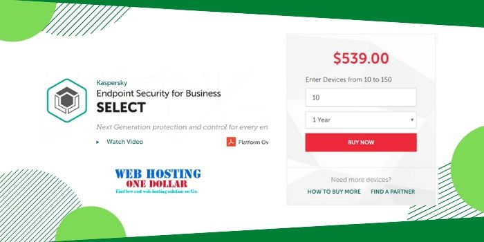 Kaspersky Endpoint Security Coupon