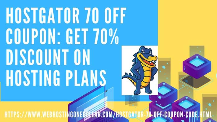 LIVE HOSTGATOR 70 OFF COUPON