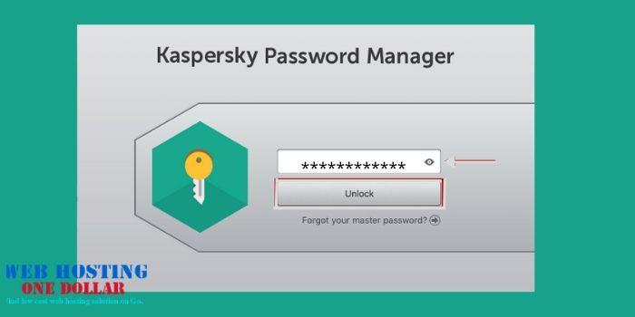 password manager kaspersky