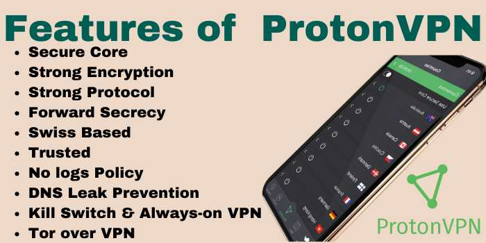 Features of ProtonVPN