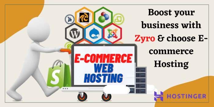 Hostinger E-Commerce Web Hosting