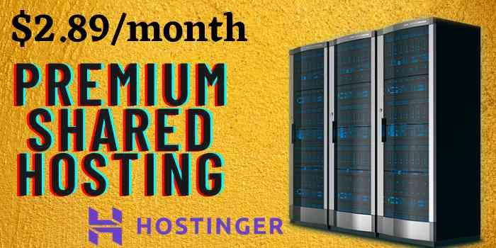 Hostinger Premium Shared Hosting