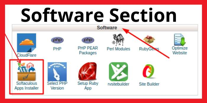 Software Section
