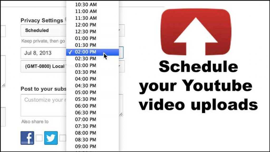 YouTube-Time-Schedule