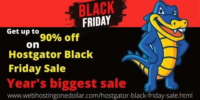Hostgator Black Friday 90 off
