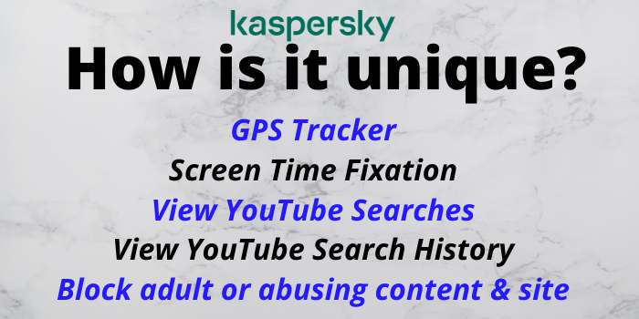 How Kaspersky is Unique?