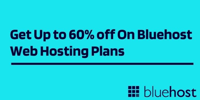 Offers on Bluehost Black Friday