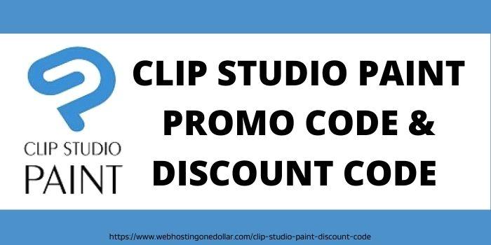 Clip Studio Paint Promo code & discount code