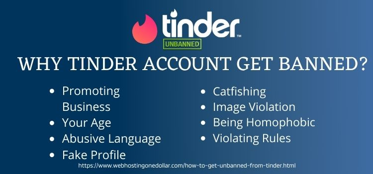 Tinder Account Get Banned