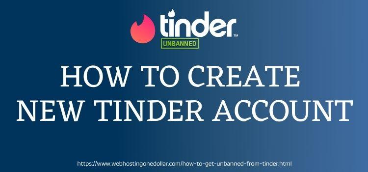 create New Tinder Account