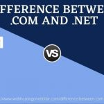 Difference net vs com