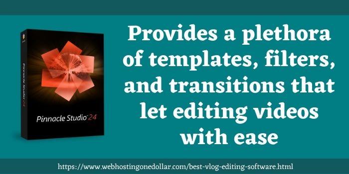 Pinnacle Studio best video editing software for beginners