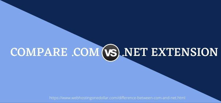 compare net vs com