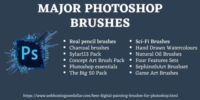 best digital painting brushes