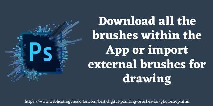 painting brushes for photoshop