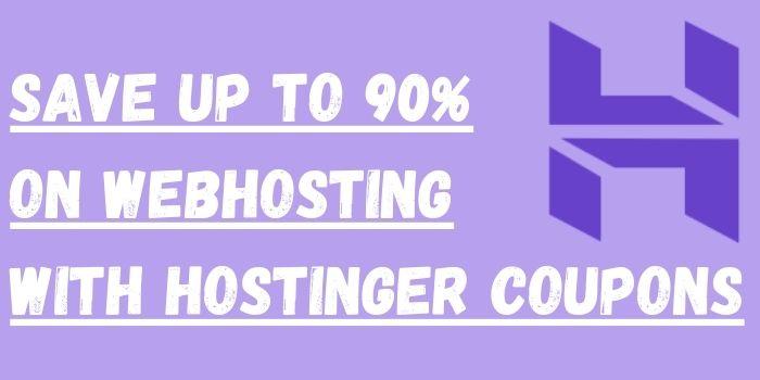 Hostinger coupon code www.webhostingonedollar.com