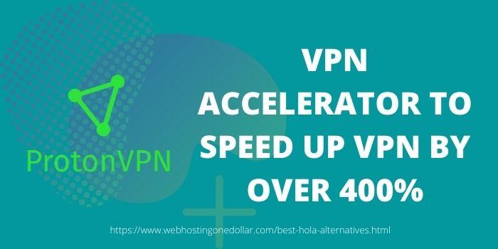 ProtonVPN Best hola alternative to speedup the VPN
