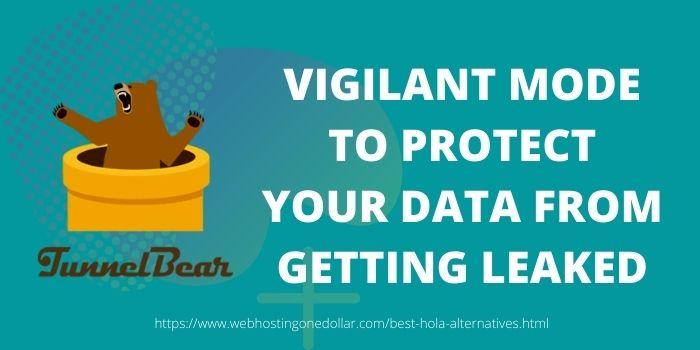 Tunnelbear best hola alternative to prevent data leakage